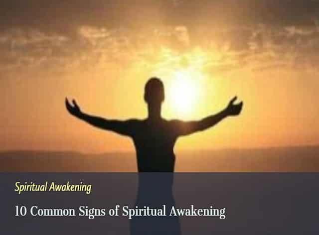 common signs of spiritual awakening
