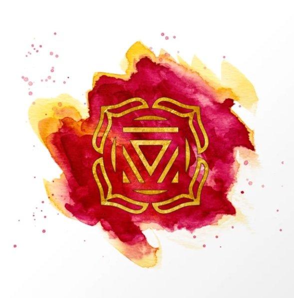 root chakra healing canvas