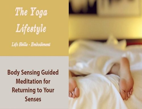 Body Sensing Guided Meditation for Health and Happiness