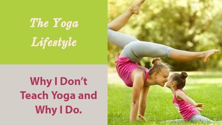 why teach yoga