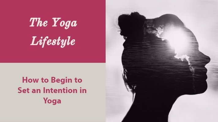 setting an intention in yoga
