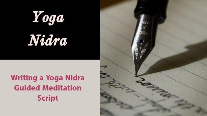 writing a yoga nidra script