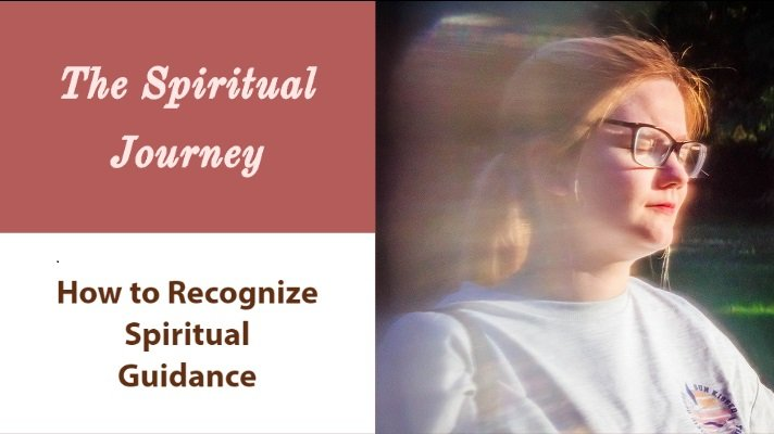 how to recognize spiritual guidance