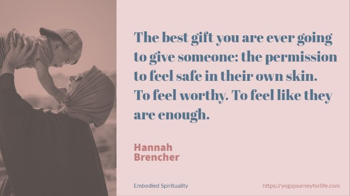 spiritual embodiment quotes - Hannah Brencher