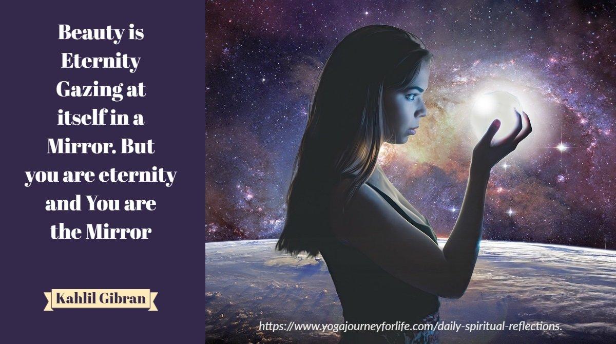 daily spiritual reflection on beauty