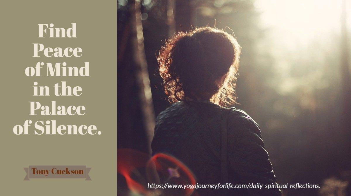 short audio spiritual reflections