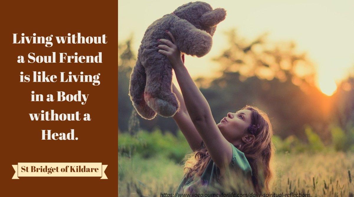 spiritual daily reflection on soul friendship