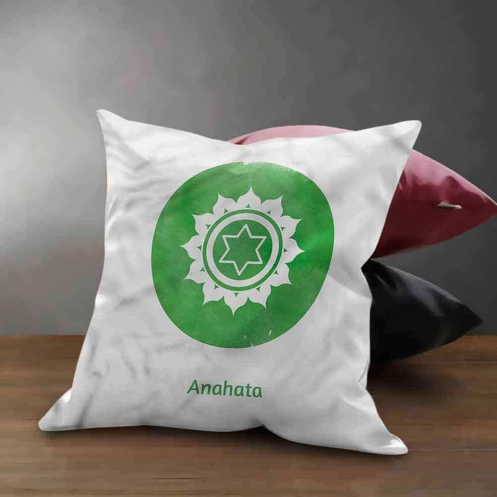 anahata chakra pillow