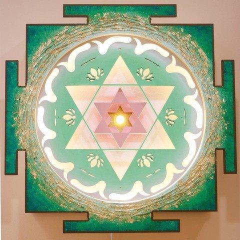 heart chakra yantra