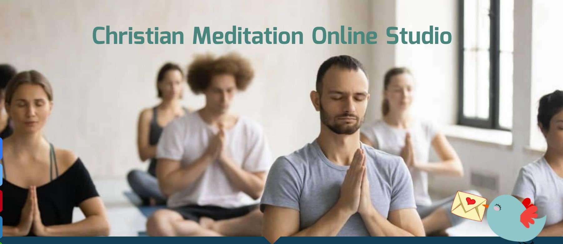 christian online meditation program