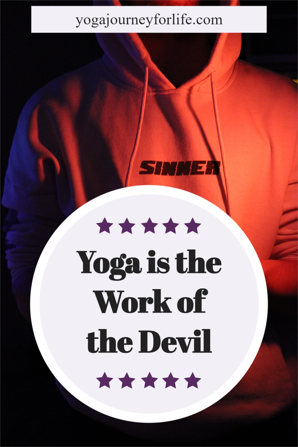 why is yoga a sin
