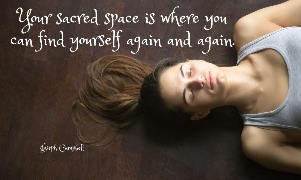 prayer preparation space