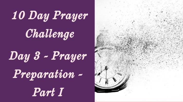 prayer preparation