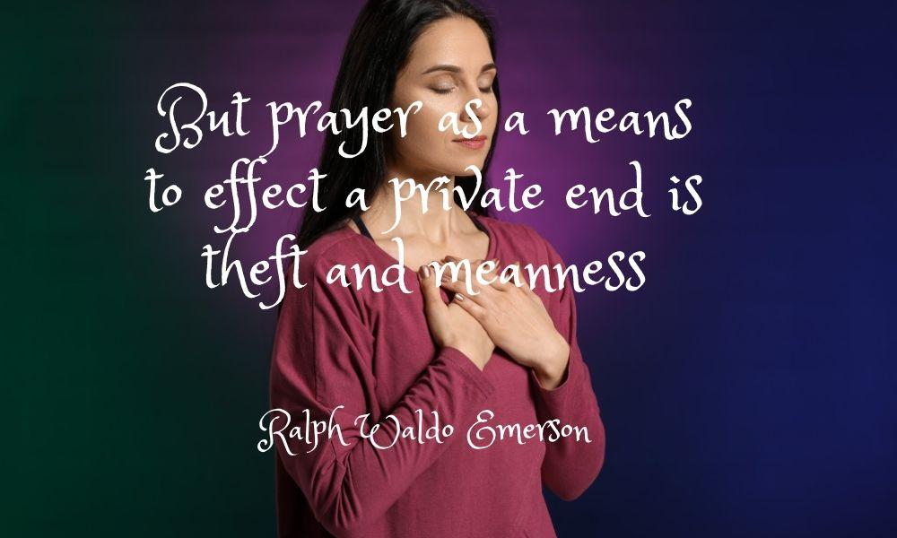 levels of prayer - metaphysical